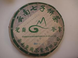云南曼岗茶业 七子饼茶 2006